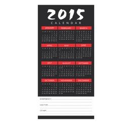 Calendar2015 vector