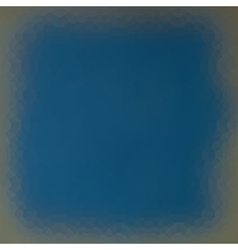 Techno gradient frame light effect in blue gray vector
