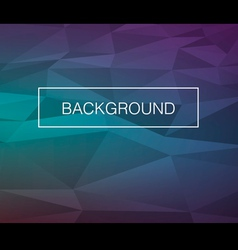 Triangle cold background vector