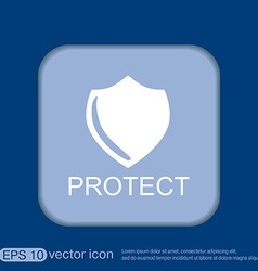 Shield a symbol of protection shield vector
