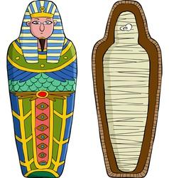 Sarcophagus vector