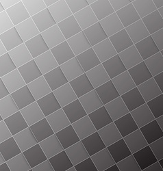 Halftone grey tile abstract modern background vector