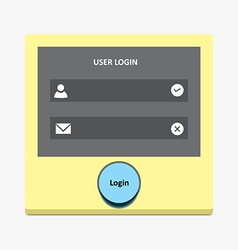 User login 38 vector