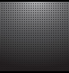 Dark pegboard background vector
