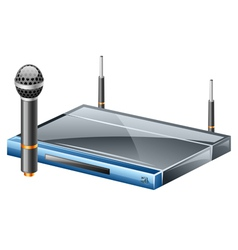 Wireless microphone vector