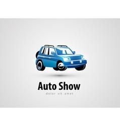 Suv logo design template transport or car icon vector