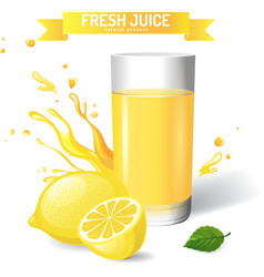 Fresh juice vector