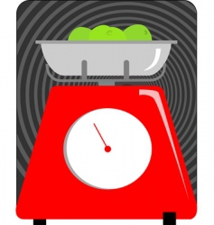 Weighing machine vector