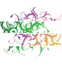 Tattoo banners vector