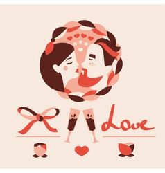 Love icons collection vector