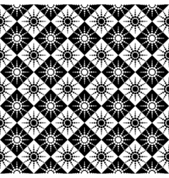 Seamless pattern with dots design vector