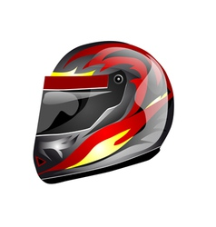 Crash helmet vector