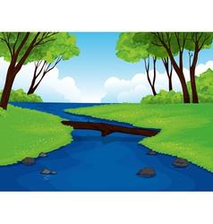 Beautiful landscape vector