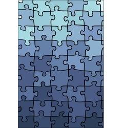 Blue gradient puzzle texture vector