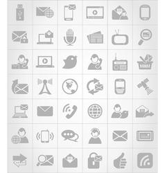Icon communication6 vector