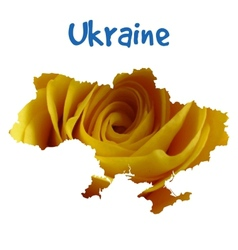 I love ukraine stylish for t vector