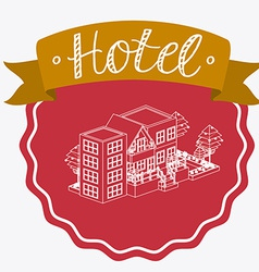 Hotel sevice desing vector
