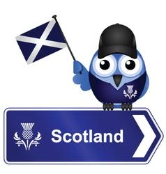 Country sign scotland vector