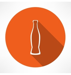 Beverage bottle vector