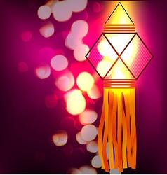 Diwali festival background vector