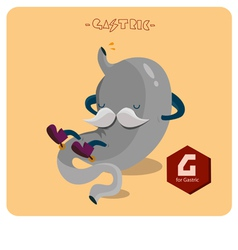 Gastric character vector