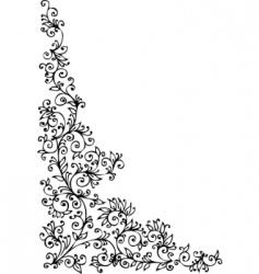 Decorative vignette vector