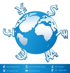 World money vector