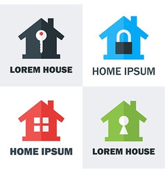 House logo design concepts vector