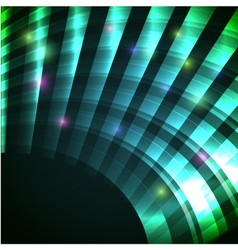Modern background with neon green arc eps10 vector
