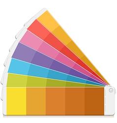 Pantone palette vector