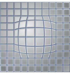 Steel background vector