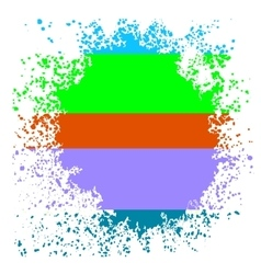 Colorful blot vector