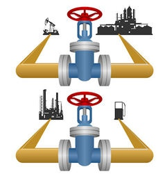Extraction and processing of petroleum products vector