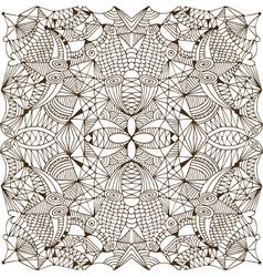 Abstract handwork background vector