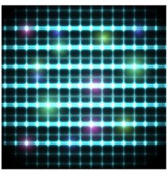 Modern background with neon grate eps10 vector