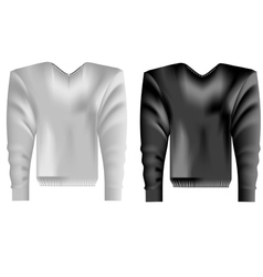 Apparel on a white vector