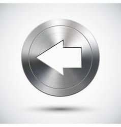 Chrome left button vector