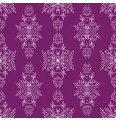 Seamless pattern antique ornament vector