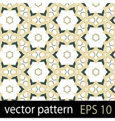 Abstract geometric floral pattern vector
