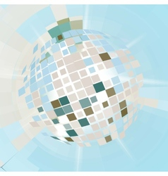 Disco ball explosion vector