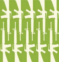 Gun pattern vector