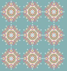 Ornament pattern retro style vector