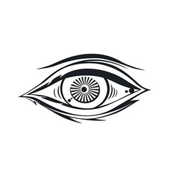 Horus eye vector