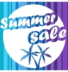 Summer sale design banner background vector