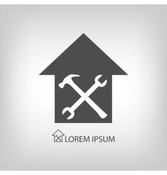 House repair symbol vector