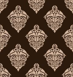 Damask seamless ornate pattern vector