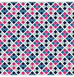 Retro beauty seamless pattern vector