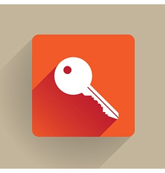 Key icon vector