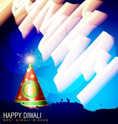 Diwali cracker vector