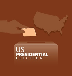 Us presidential election vector